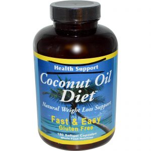 coconut-oil-diet-180-softgels-by-health-support