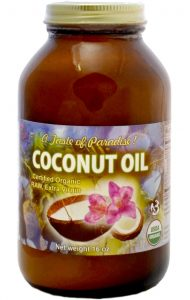 Divine Organics raw virign coconut oil