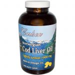 Carlson Labs Essential Fatty Acids – Norwegian Cod Liver Oil Lightly
