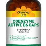 Country Life Nervous System Support – Coenzyme Active B6 Caps P5P/PAK