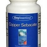 Allergy Research Group Minerals – Copper Sebacate – 75 Vegetarian