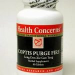 Health Concerns Herbals/Herbal Extracts – Coptis Purge Fire – 90 Tabs
