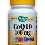 Nature's Way Cardiovascular Support – CoQ10 100 mg – 30 Softgels