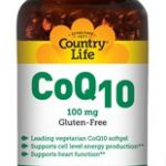 Country Life Cardiovascular Support – CoQ10 100 mg – 60 Vegan Softgels