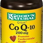 Good and Natural Cardiovascular Support – CoQ-10 200 mg – 30 Softgels