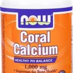 NOW Joint Support – Coral Calcium 1000 mg – 100 Vegetarian Capsules
