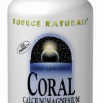Source Naturals Minerals – Coral Calcium with Magnesium – 180 Tablets
