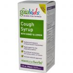 Gaia Herbs Children's Formulas – Cough Syrup with Honey and Lemon for