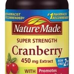 Nature Made Immune Support – Cranberry 450 mg with Vitamin C – 60