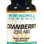 Windmill Urinary Support – Cranberry Extract 250 mg – 60 Capsules