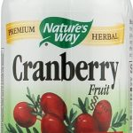 Nature's Way Urinary Support – Cranberry Fruit 465 mg – 100 Capsules