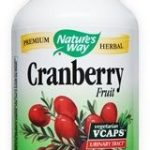 Nature's Way Urinary Support – Cranberry Fruit – 180 VCaps