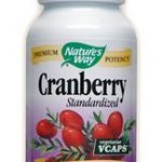 Nature's Way Urinary Support – Cranberry Standardized – 120 VCaps