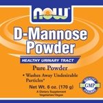 NOW Urinary Support – D-Mannose Powder – 6 oz (170 Grams)
