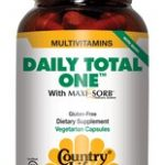 Country Life Multivitamins – Daily Total One with Iron – 60 Vegetarian