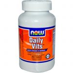 NOW Multivitamins – Daily Vits – 250 Tablets