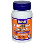 NOW Gastrointestinal/Digestive – Dairy Digest Complete – 90 Vegetarian
