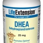Life Extension Hormone/Glandular Support – DHEA 25 mg – 100 Capsules