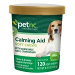PetNC Natural Care Dogs – Dog Calming Formula Soft Chews – 120 Tablets