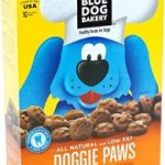 Blue Dog Bakery Dogs – Doggie Paws (Peanut Butter & Molasses Flavor) –