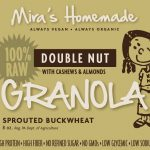 Miras Homemade Snacks – Double Nut Granola with Cashews & Almonds