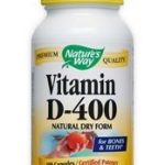 Nature's Way Cellular Support – Vitamin D-400 – 100 Capsules