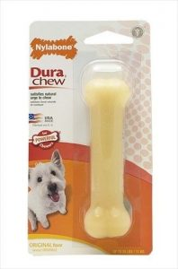 dura-chew-bone-regular-dogs-up-to-25-lbs-11-kg-original-flavor-1-count-by-nylabone