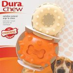 Nylabone Dogs – Dura Chew Double Action Chew – Revolving Ends