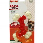 Nylabone Dogs – Dura Chew Double Bone (Wolf Dogs, Up To 35 Lbs / 16