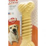 Nylabone Dogs – Dura Chew Textured Bone, Raised Action Nubs (Souper