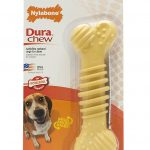 Nylabone Dogs – Dura Chew Textured Bone, Raised Ridges & Nubs (Wolf