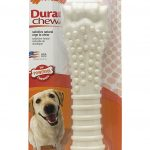 Nylabone Dogs – Dura Chew Textured Bone (Souper Dogs, 50+ Lbs / 23+