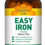 Country Life Minerals – Easy Iron 25 mg – 90 Vegetarian Capsules
