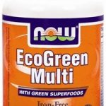 NOW Multivitamins – EcoGreen Multi Iron-Free – 60 Tablets