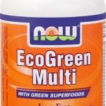 NOW Multivitamins – EcoGreen Multi Iron-Free – 90 Veg Capsules