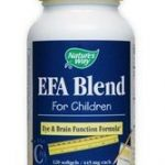Nature's Way Nervous System Support – EFA Blend for Children – 60