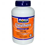 NOW Herbals/Herbal Extracts – Eleuthero 500 mg – 250 Capsules