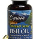 Carlson Labs Essential Fatty Acids – Elite Omega-3 Gems – 60 Soft Gels