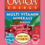Ola Loa Multivitamins – Energy Multi Vitamin Cran-Raspberry – 30