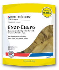 enzy-chews-poultry-flavored-for-dogs-11-25-lbs-30-chews-by-butler-schein