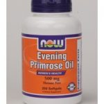 NOW Women's Health – Evening Primrose Oil 500 mg – 250 Softgels