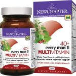 NewChapter Cardiovascular Support – Every Man II 40+ Multivitamin –