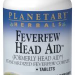 Planetary Herbals Herbals/Herbal Extracts – Feverfew Head Aid 615 mg –