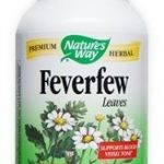 Nature's Way Cardiovascular Support – Feverfew Leaves – 180 Capsules