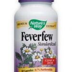 Nature's Way Cardiovascular Support – Feverfew Standardized – 60