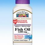 21st Century Cardiovascular Support – Fish Oil 1200 mg – 90 Enteric