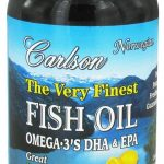 Carlson Labs Essential Fatty Acids – Fish Oil Lemon Flavor – 240 Soft