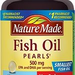 Nature Made Cardiovascular Support – Fish Oil Pearls 500 mg – 90