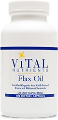 flax-oil-caps-1g-organic-100-capsules-by-vital-nutrients