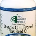 Ortho Molecular Products Essential Fatty Acids – Organic Cold Pressed